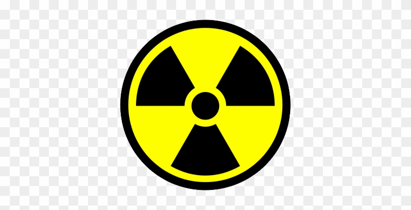 Radioactive Symbol Clipart Transparent Background - Radiation Sign #210300