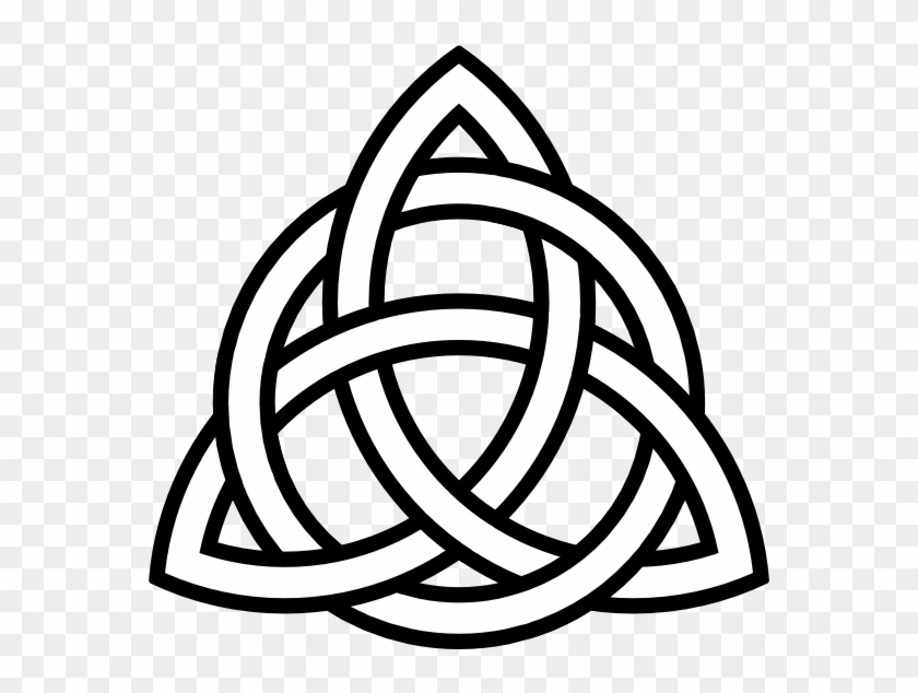 Triquetra Tattoo Clip Art Celtic Symbol Of Hope Free Transparent