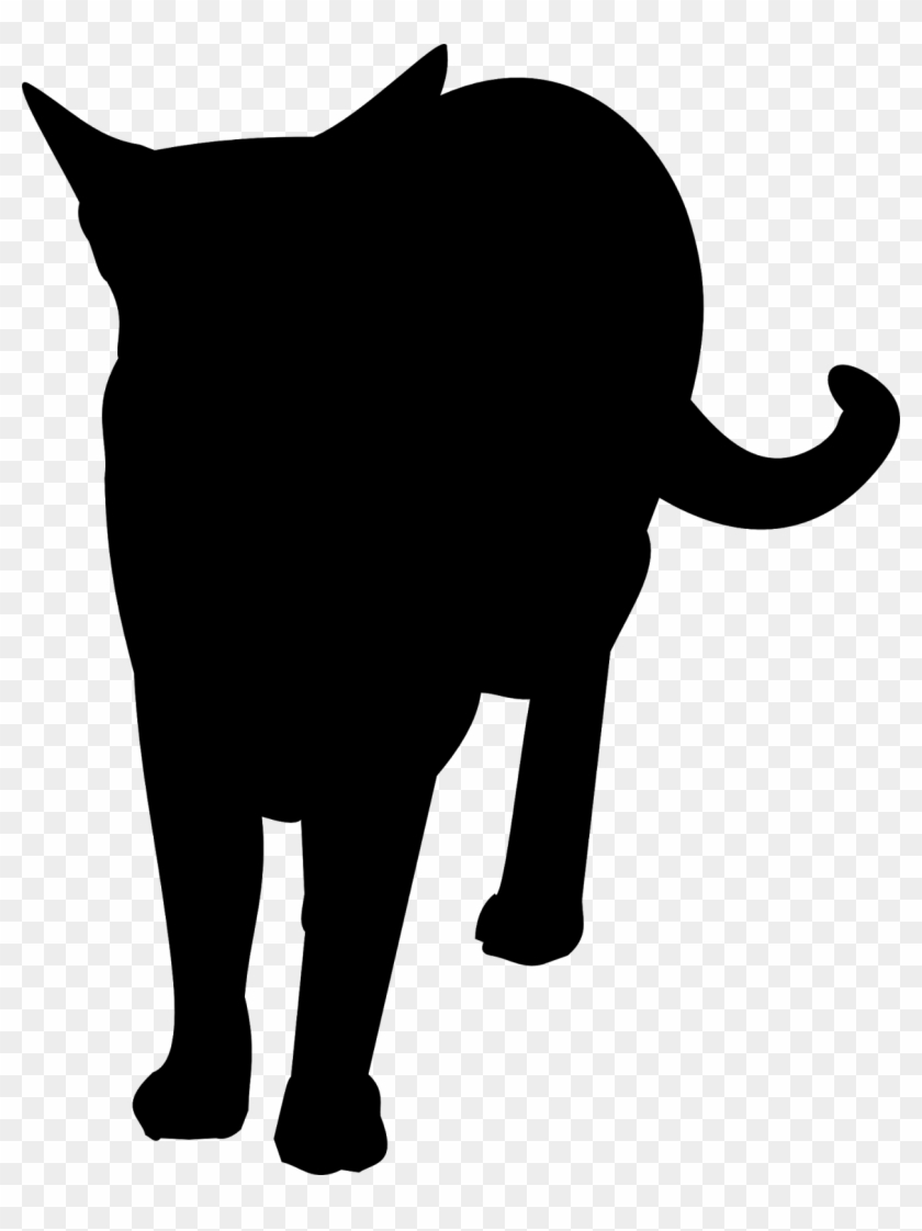 Feel Free To Use This Cat Silhouette For Your Own Projects Black