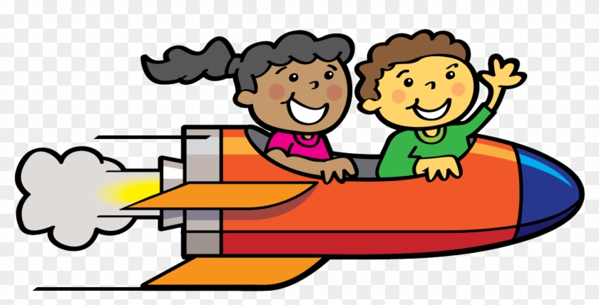 Rocket Clipart Childrens - Blast Off Clipart #210484