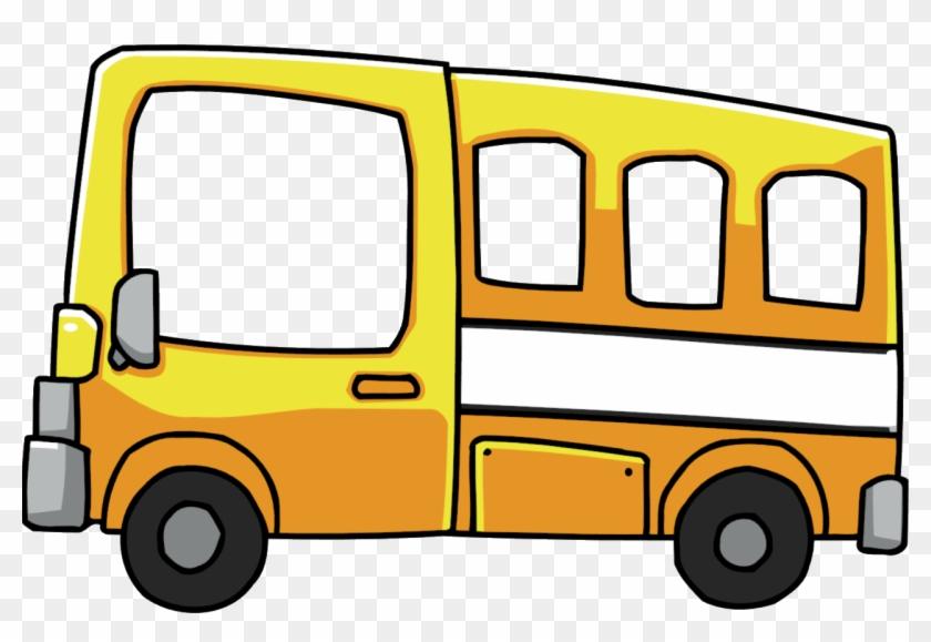 Bus Clip Art Image - Scribblenauts School Bus #210643