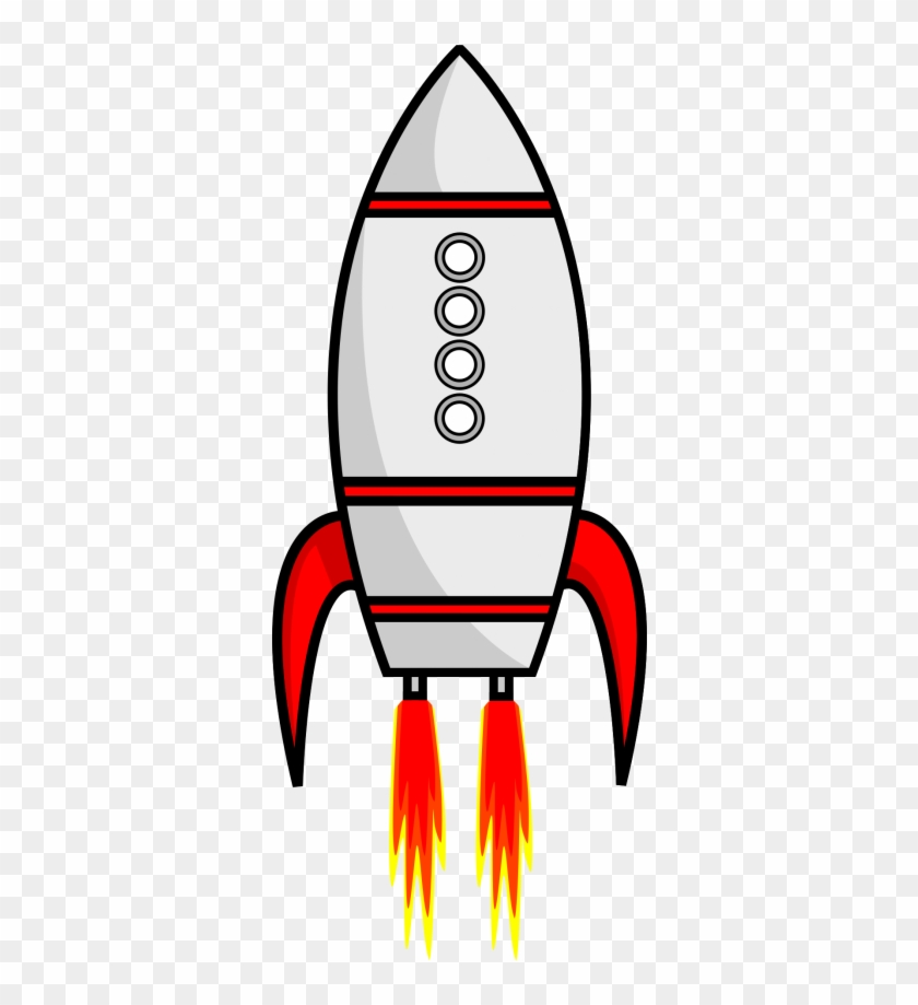 Rocket Vectot Png Transparent Image - Rocket Take Off Png #210662