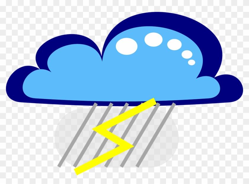 Free Drakoon Thunder Cloud 3 - Light Rain With Thunder Cartoon #210730