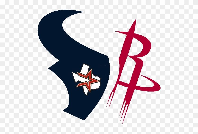 Houston Rockets Texans Astros By Dtexanz - Houston Sports Teams Logos #210771