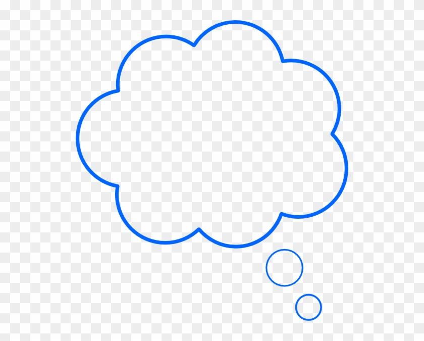 Thought Bubble Clip Art - Cloud Bubble Clip Art Transparent