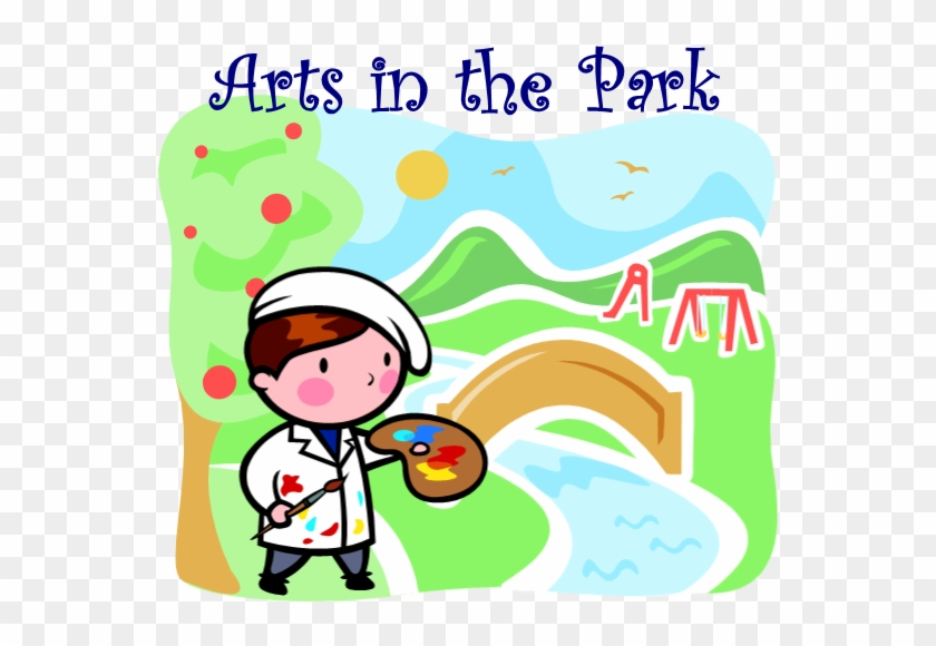 Arts In The Park Logo - Spanish Language School Poster - Colors - Wall Chart #1341851