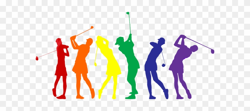 Clip Art Black And White Golfer Clipart Golf Group - Golf #1342264