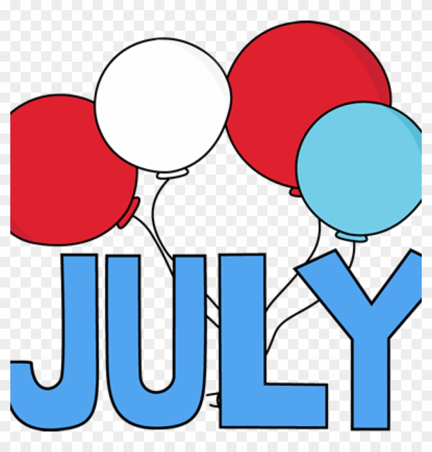 Free July Clipart Free Month Clip Art Red White And July Calendar For Preschoolers Free Transparent Png Clipart Images Download