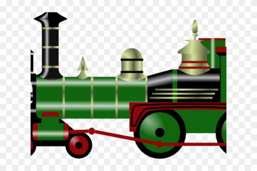 Locomotive Clipart Steam Train - Christmas Toy Train Png #1342570