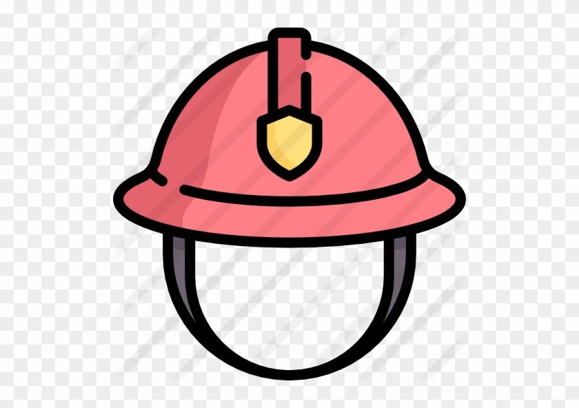 Firefighter Helmet Free Icon - Firefighter Helmet Icon #1342689
