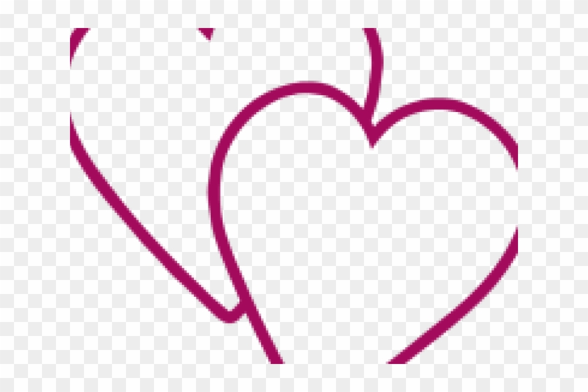 Double Heart Clipart - Double Heart Clipart #1342867