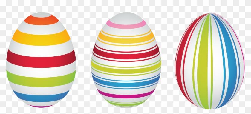 Easter Bunny Easter Egg Clip Art Easter Eggs 4927 2221 - Stripes Easter Egg Clipart #1342878
