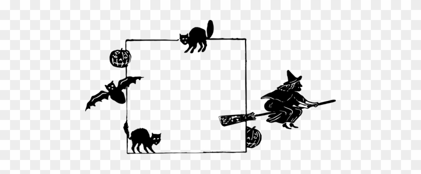 Clipart - Clipart Picture Frame Halloween #1343219