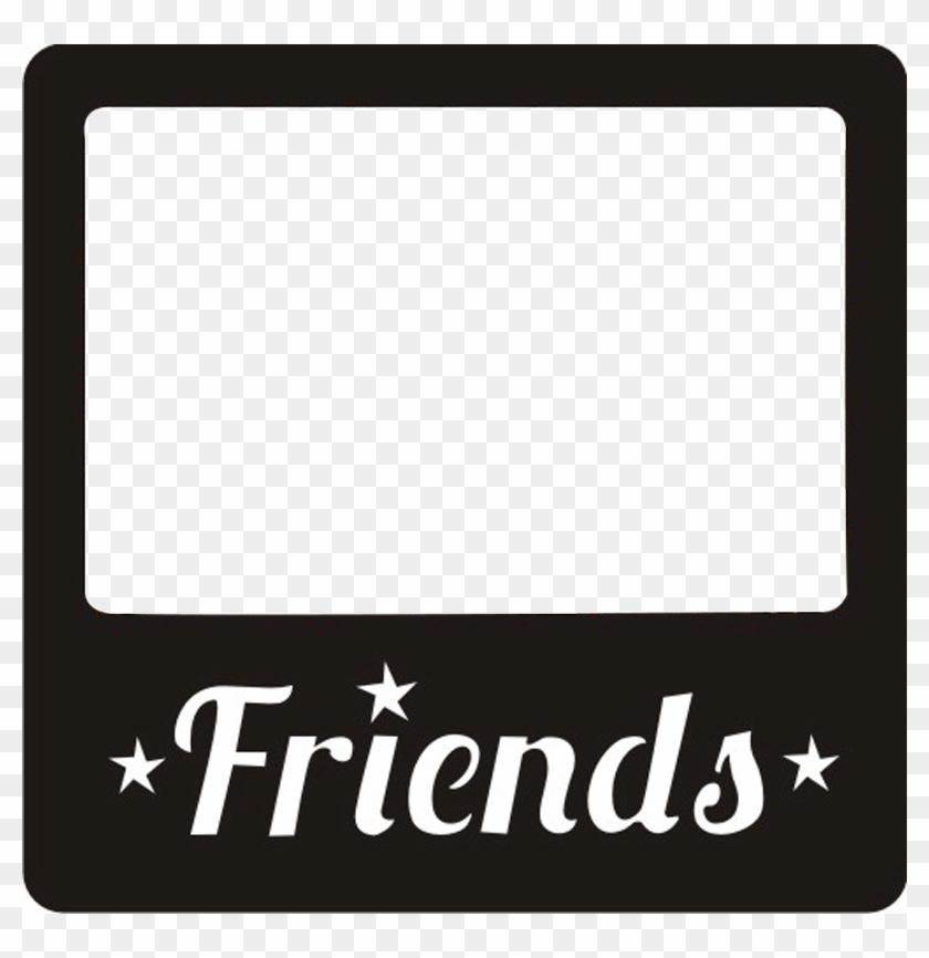 Friends Friend Frames Frame Borders Border - Frame Polaroid Png #1343241