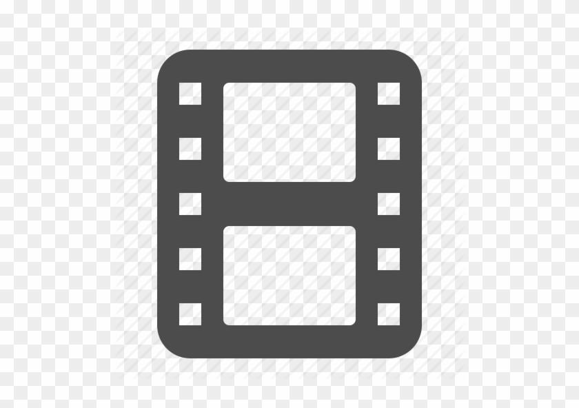 Reel Of Film Icon Transparent Clipart Film Reel Computer - Movie Film Reel Icon #1343251