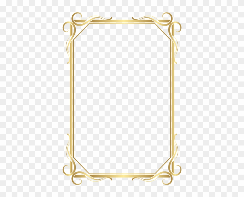 High Quality Images, Adobe Photoshop, Microsoft Word, - Transparent Gold Border Png #1343397