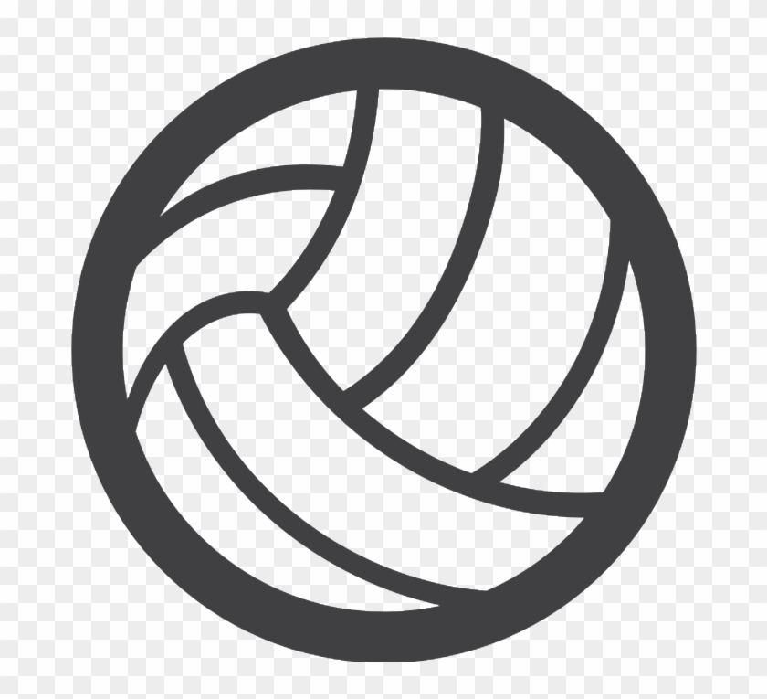 Volleyball Logo Ball #1343541