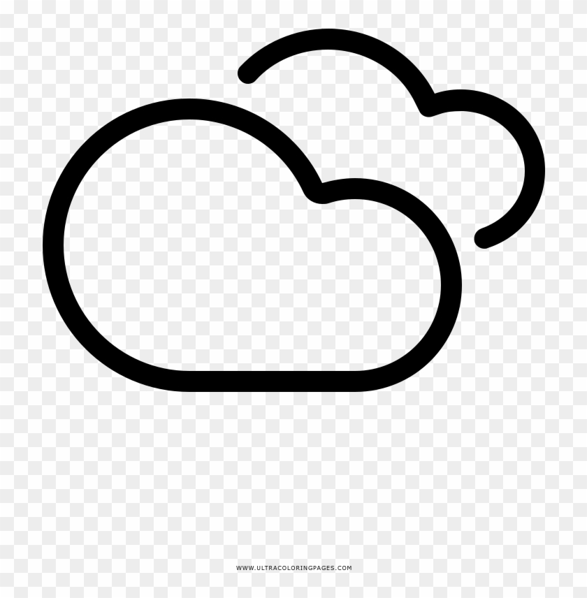 Clouds Coloring Page | Printable coloring pages | 856x840