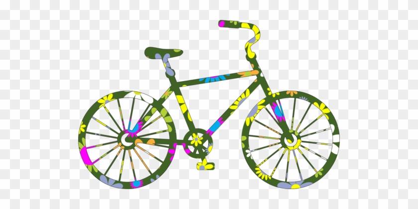 Road Bicycle Cycling Mountain Bike Silhouette Bike Clip Art Free