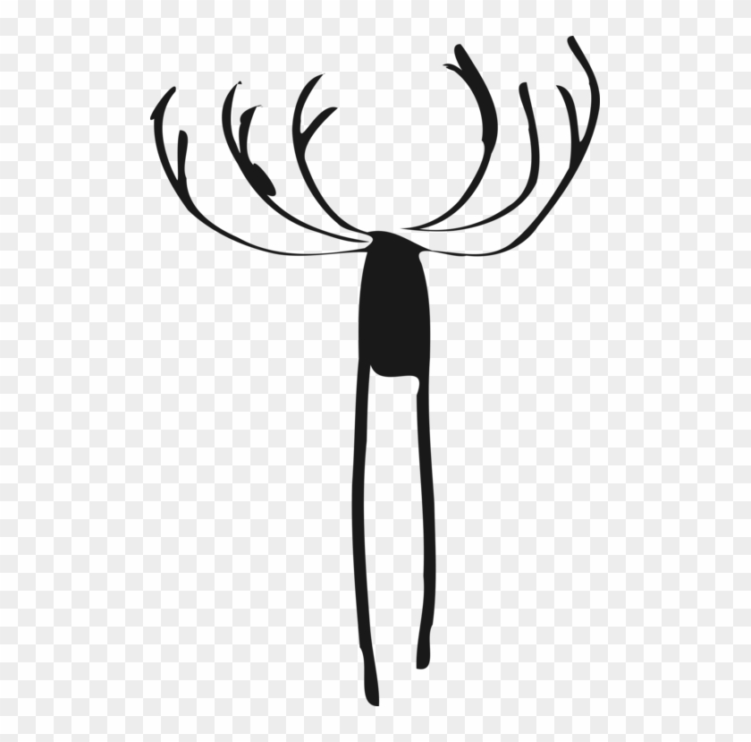 black and white Elk roaring side profile clipart. Commercial use GIF, JPG,  PNG, EPS, SVG, AI, PDF clipart # 394988 | Graphics Factory