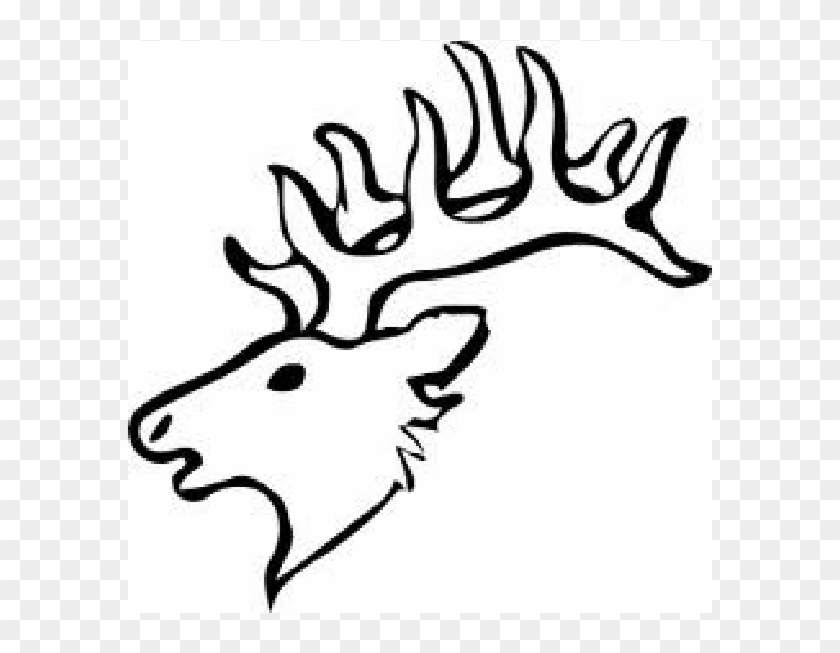 Deer Head For Scroll Saw Pattern Easy Elk Head Drawing Free