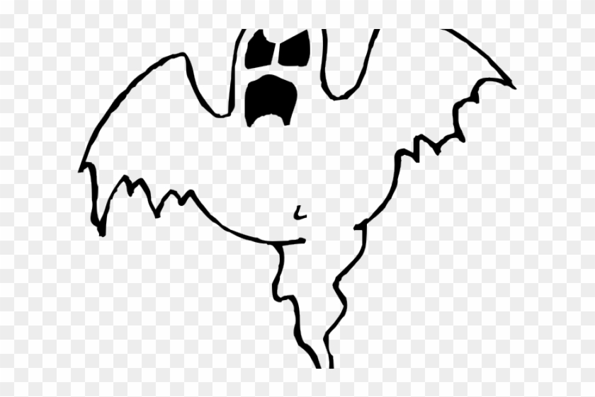 Ghostly Clipart Halloween Creepy Ghost Coloring Pages