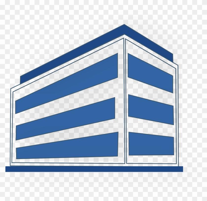 Open - Office Building Clip Art #1345275