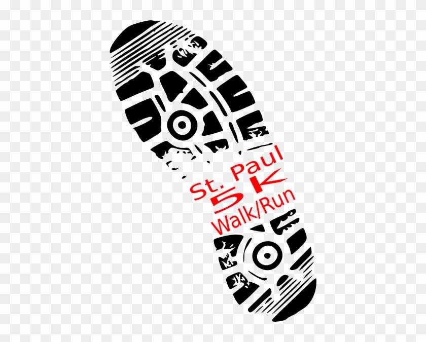 Paul 5k Run Clip Art At Clker - 5k Run Walk #1345916