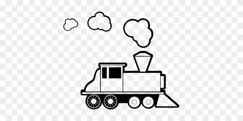 Toy Trains & Train Sets Rail Transport Thomas Steam - Steam Engine Train Clipart #1346383
