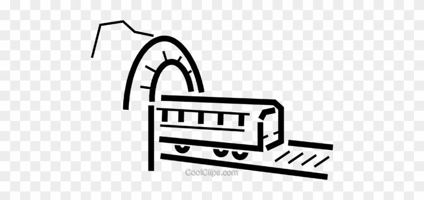 Trains Locomotives Royalty Free Vector Clip Art Illustration - Rail