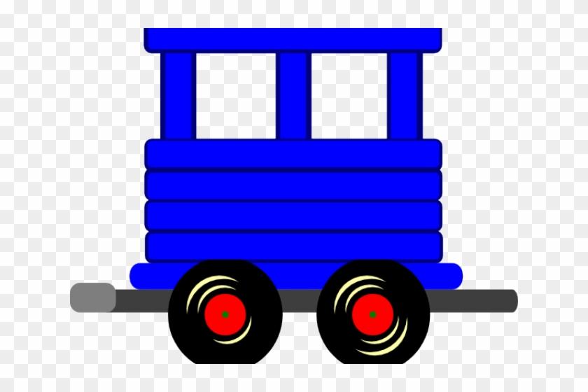 Locomotive Clipart Loco - Train Box Car Clipart Png #1346934