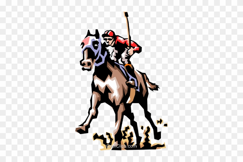 Horse Race Royalty Free Vector Clip Art Illustration Horse Racing Clip Art Free Transparent Png Clipart Images Download