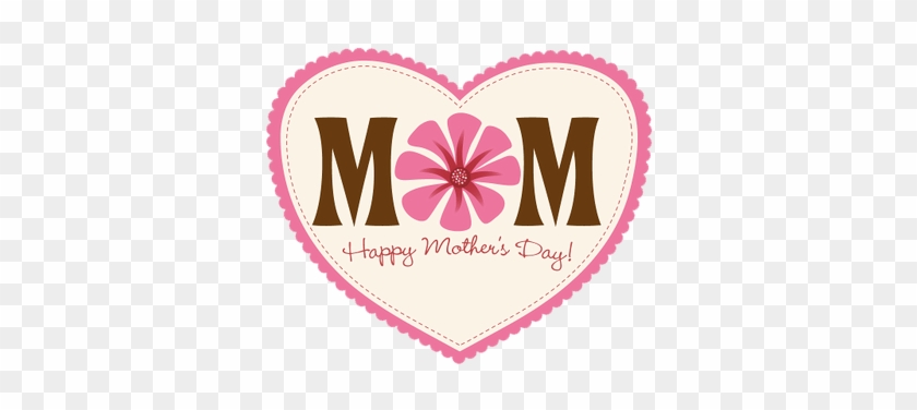 Happy Mothers Day Heart Transparent Png Stickpng - Mother's Day Posters Designs #1348209