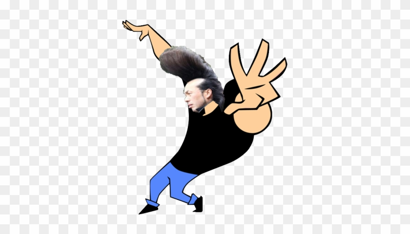 I Tried Johnny Bravo Stickers Free Transparent Png Clipart
