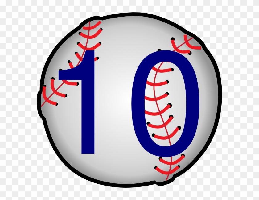 Clip Art Baseball Ball #1349084