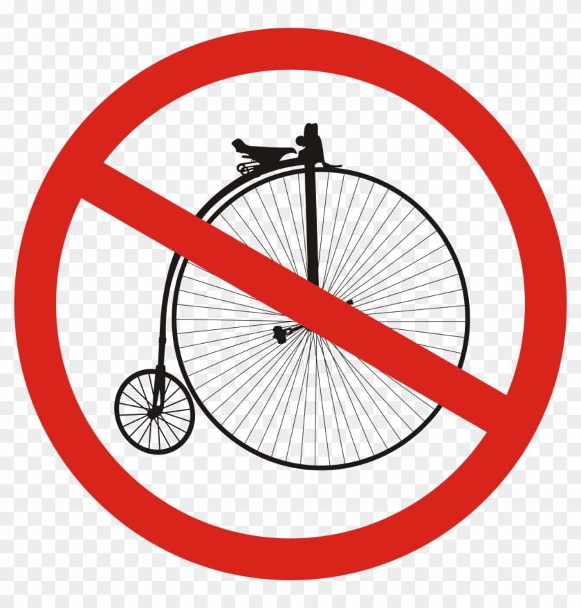 Bike Clipart Penny Farthing - Penny Farthing Bicycle Drawing - Free  Transparent PNG Clipart Images Download