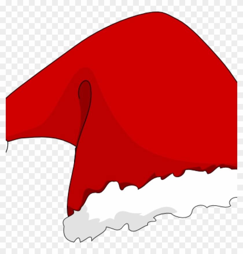 Large Santa Hat Santa Hat Clip Art At Clker Vector - Santa Hat Rectangle Magnet #1349656