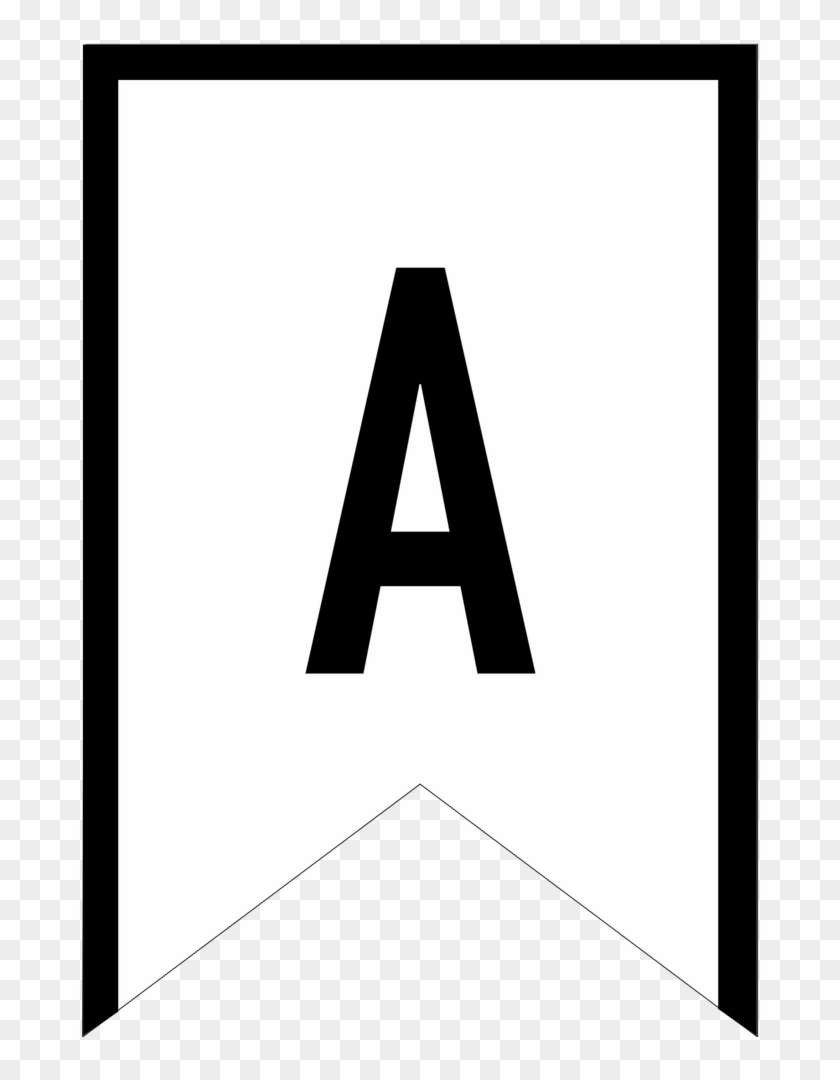 picture about Printable Letter for Banners identify Banner Templates Totally free Printable Abc Letters - Printable