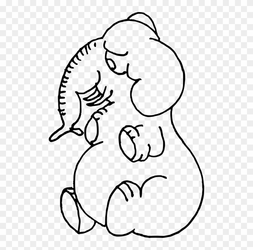Coloring Book Line Art Drawing Child Mammal