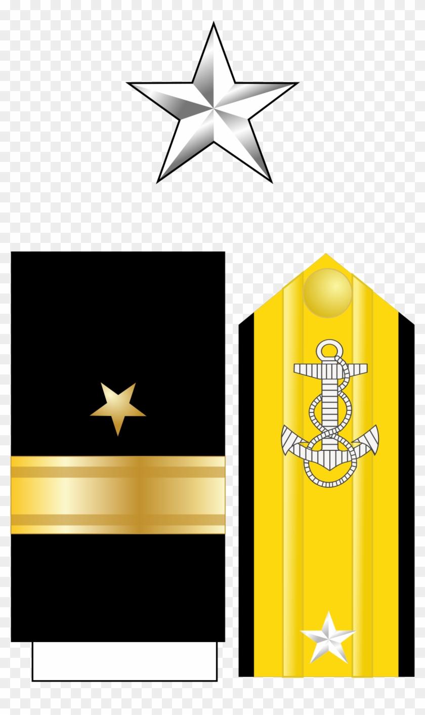 Rear Admiral Lower Half Insignia Clipart Rear Admiral - Rear Admiral Lower Half Rank #1351091
