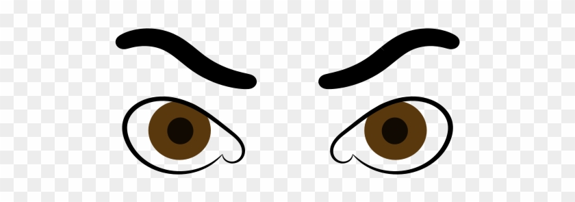 Clipart Freeuse Stock Panda Free Images Browneyeclipart - Transparent Right Brown Eye Cartoon #1351269