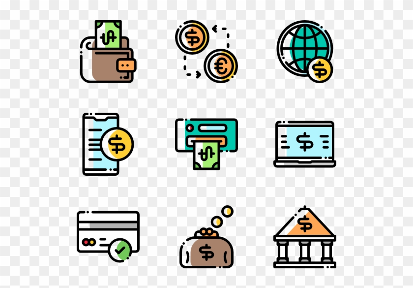 Banking - Discussion Flat Icon #1351662