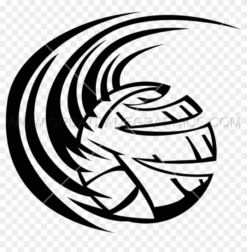 Volleyball Swoosh Clipart T Shirt Volleyball Clip Art