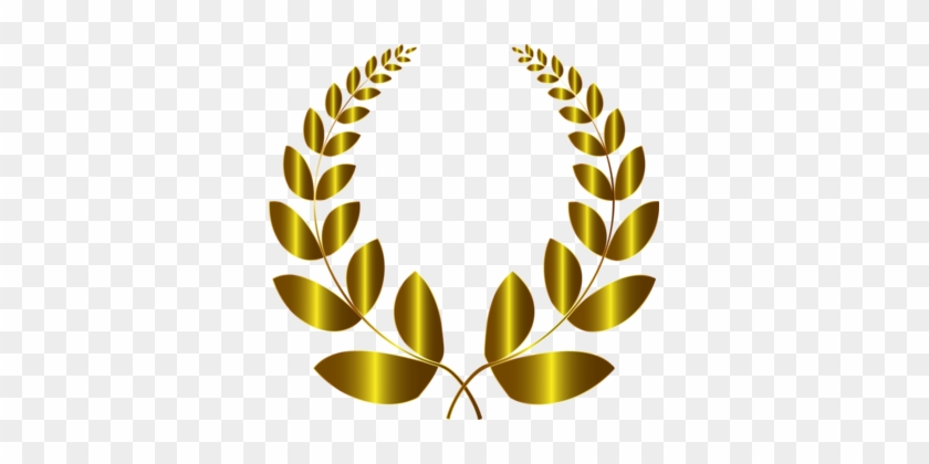 Laurel Wreath Bay Laurel Gold Drawing Olive Wreath - New Hope Film Festival Logo #1352053