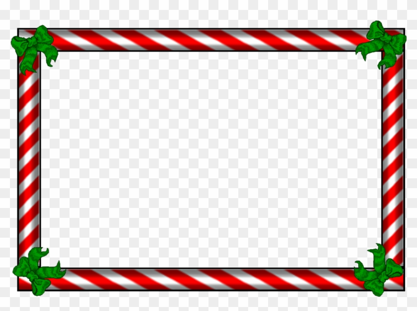 Babyrage Transparent Kappa - Candy Cane Border Png #1352828