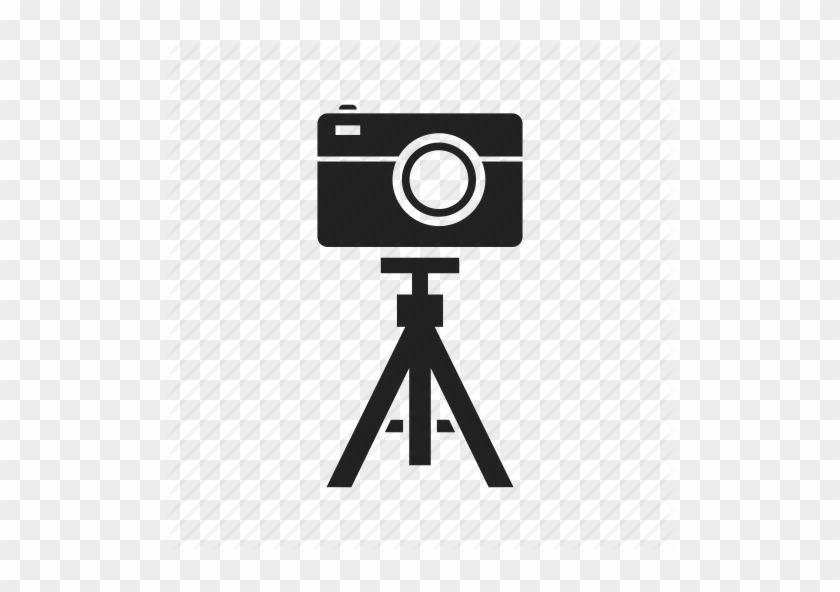 Free Download Film Video Icon Png Clipart Photographic - Camera Tripod Logo Png #1352833