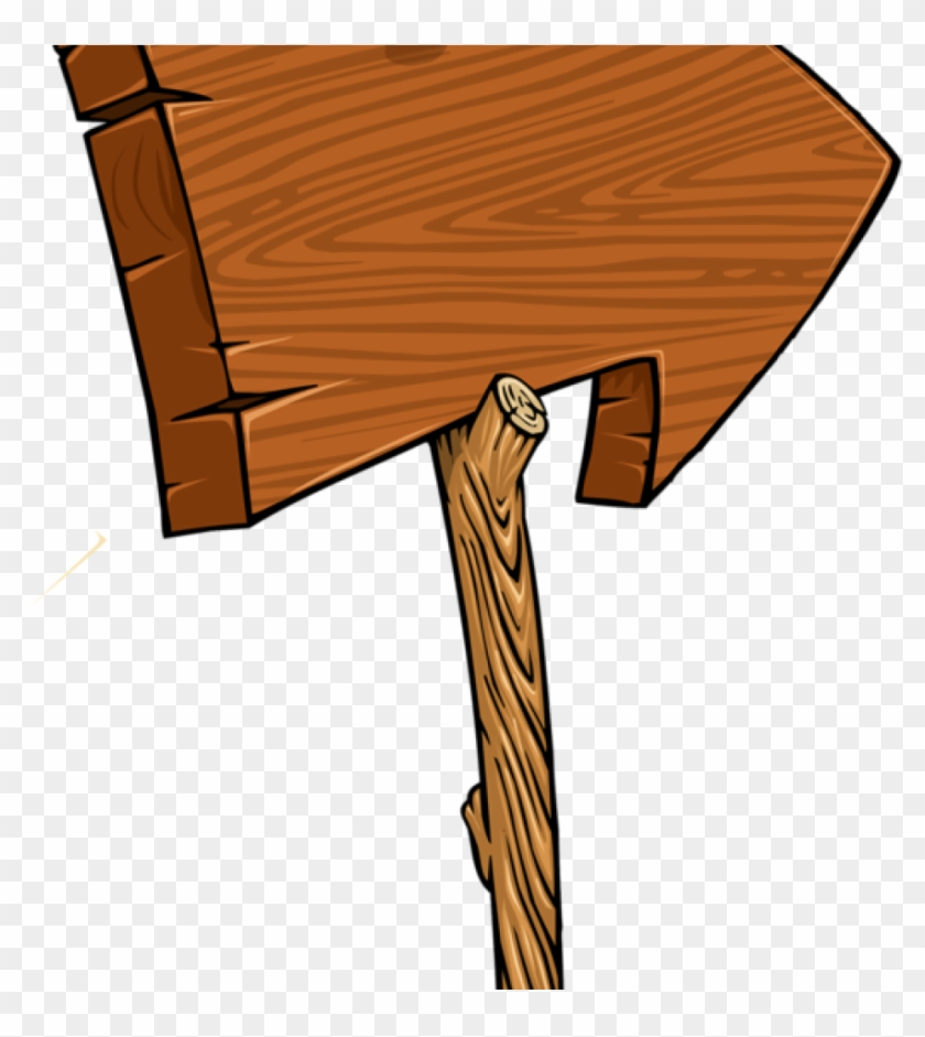 Sign Clipart Wooden Arrow Blank Sign Clip Art Blank - Wooden Arrow Sign Clipart #1353178