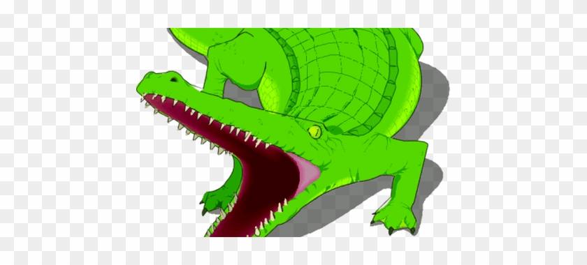 Alligator Clipart Adorable - Crocodile Clip Art #1353316