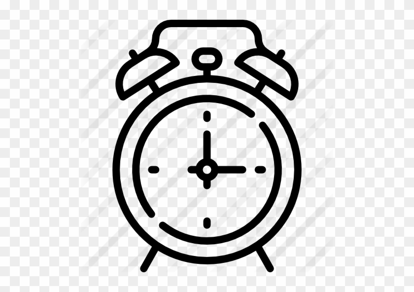 Alarm Clock Free Icon - Alarm Clock Icon Png #1353911