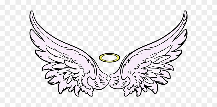 Simple Wings Drawing Free Download Best X - Angel Wings Drawing Simple #1354059